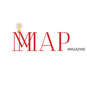 MMAP Magazine Red and Black Logo Image