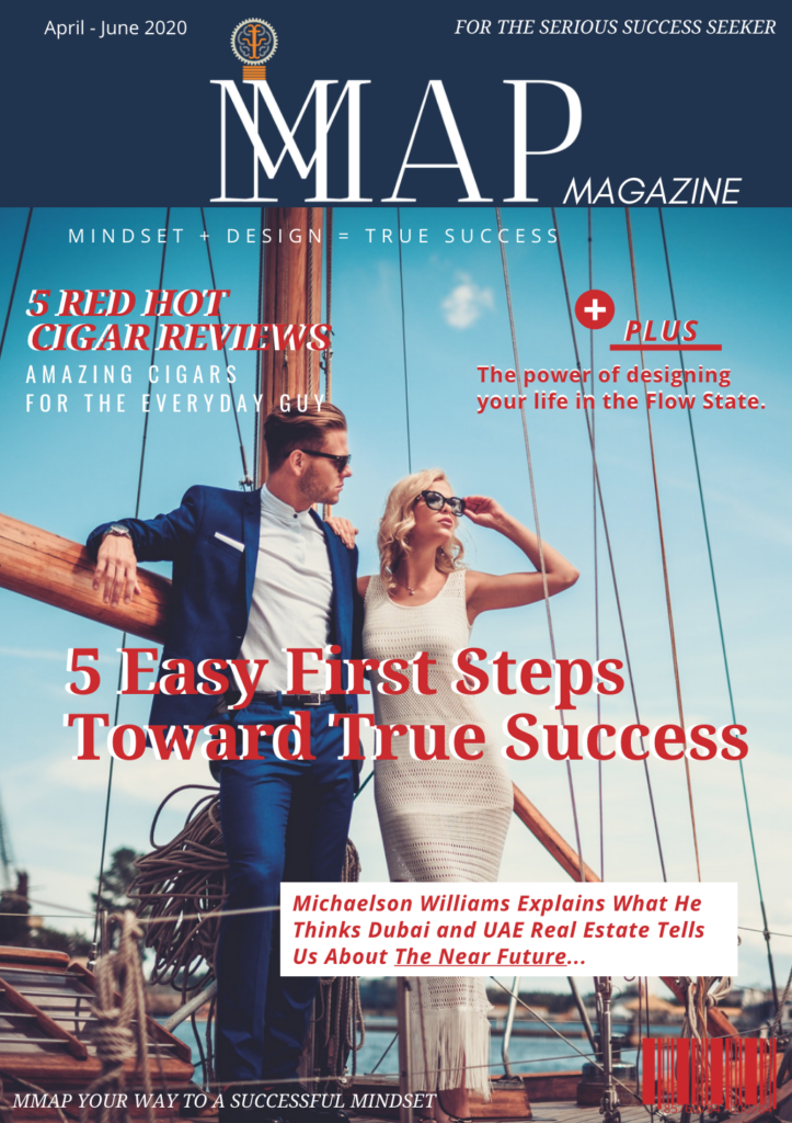 MMAP Magazine Cover couple on ship April issue