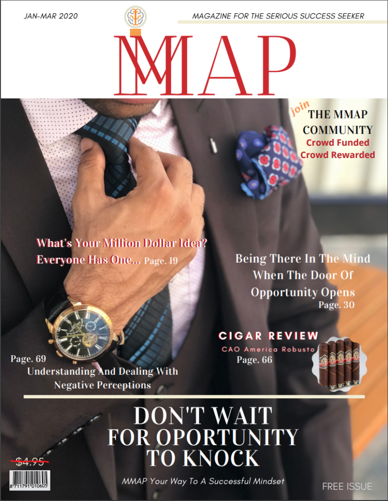 MMAP Magazine Cover Crowd Funded