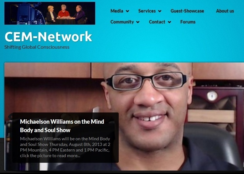 Michaelson Williams Interview with CEM-Network
