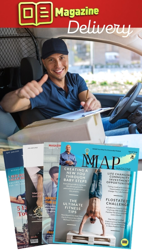 MMAP Magazine Home Delivery To Your Door