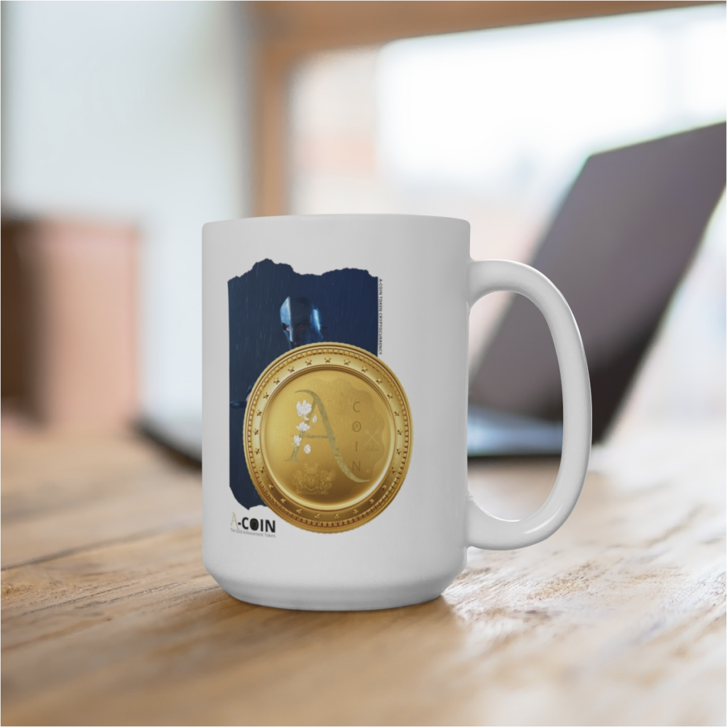 A-Coin Token white mug free for early contributors