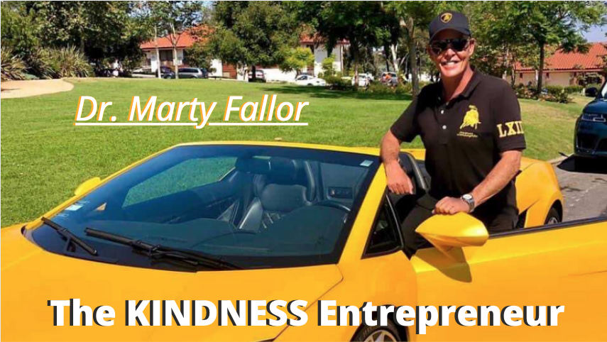 My Interview With Dr. Marty, The KINDNESS Entrepreneur
