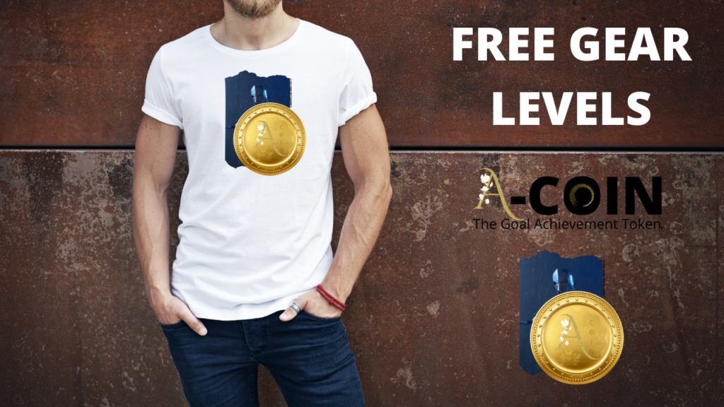 A-COIN TOKEN Free Gear Supporter Levels