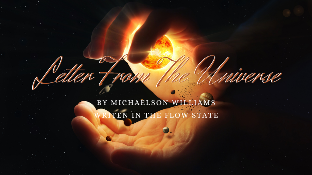 Letter From The Universe