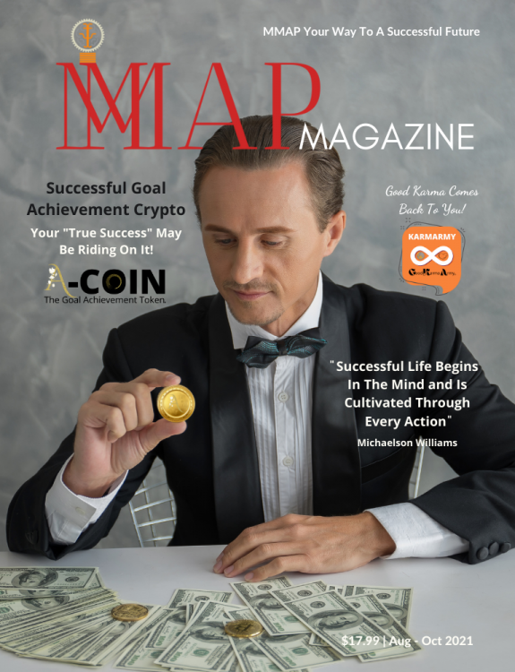 MMAP Magazine Cover for Aug-Oct