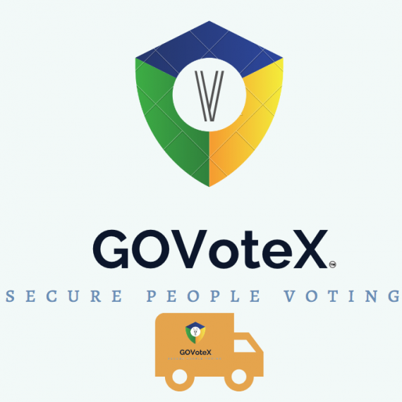GOVoteX with moving truck