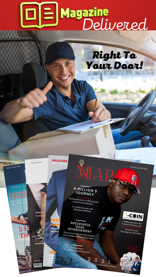 MMAP Magazine Delivered Right To Your Door